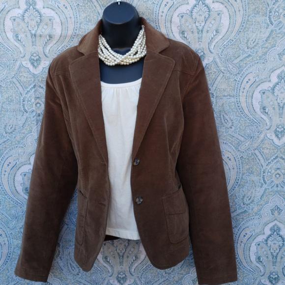 Kenar Jackets & Blazers - KENAR BROWN CORDUROY BLAZER *474